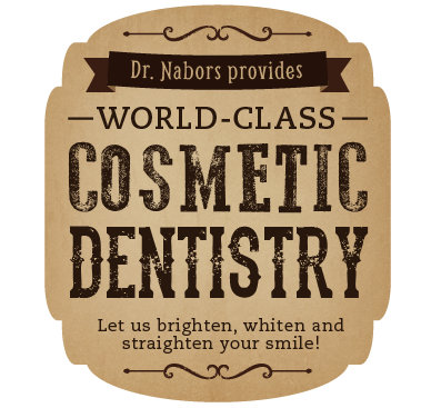 Dr. nabors provides world-class cosmetic dentistry.  Let us brighten, whiten and straighten your smile!
